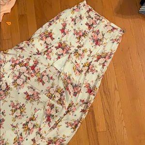 Anthropologie Long maxi skirt